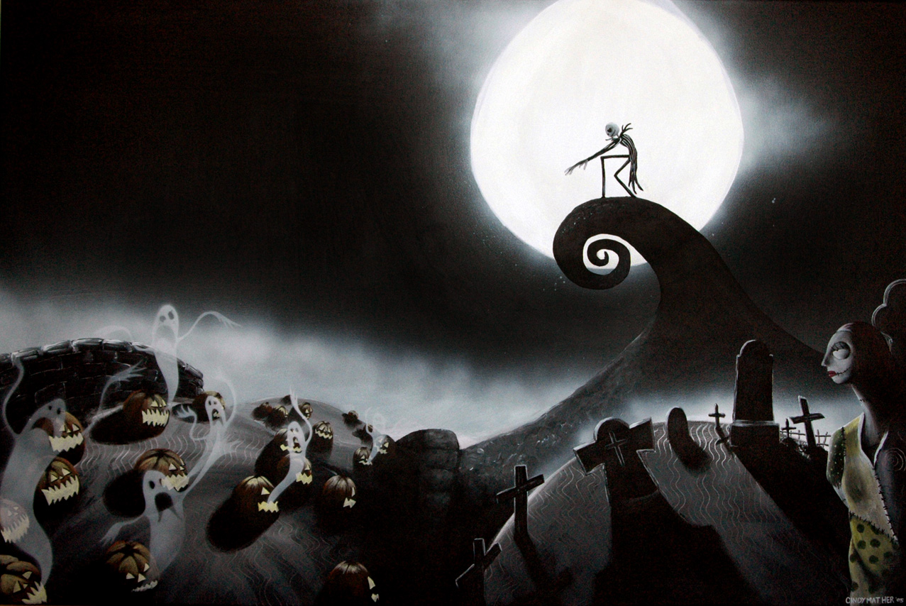 Nightmare Before Christmas Jack Wallpaper bigking keywords and pictures
